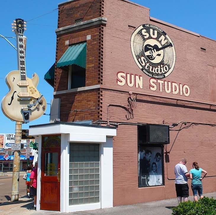 Memphis Recording Service, Aka Sun Studio, Opens