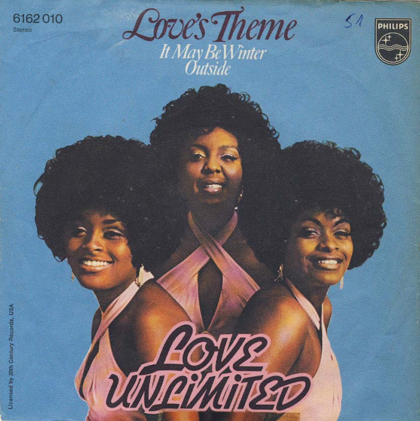 Barry White Love Unlimited Orchestra Love's Theme LP