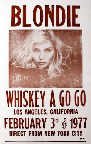 Blondie at the Whisky Go Go -300