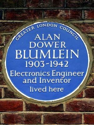 Blumlein plaque