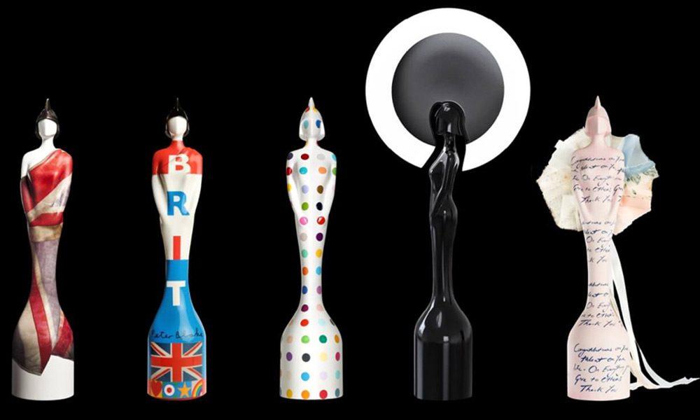 BRIT Awards Statuettes