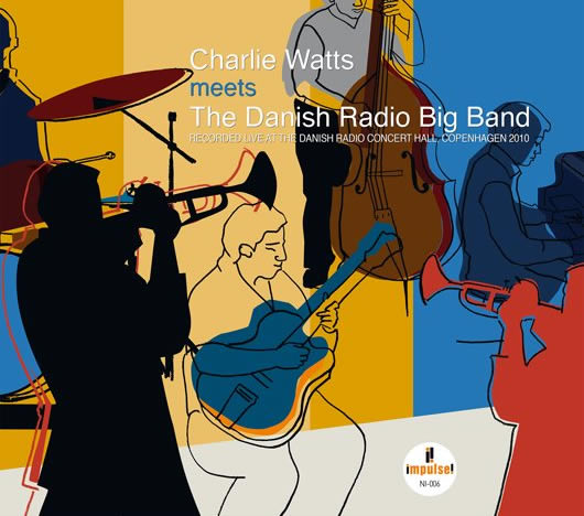 Альбом «Charlie Watts Meets the Danish Radio Big Band» выйдет в апреле
