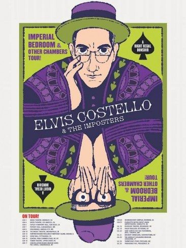 Elvis Costello Brings His Imposters On A Summer Tour