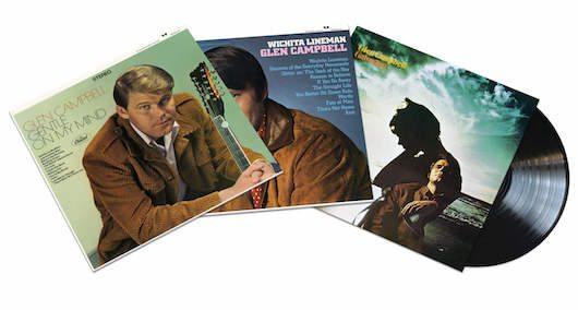 Glen Campbell Vinyl Reissues