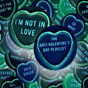 I'm Not In Love - Anti-Valentine's Day uByte Art