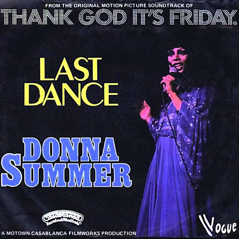 'Last Dance,' First Grammy: Donna Summer Soundtracks The Disco Boom