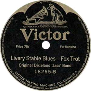 Livery Stable Blues Record Label