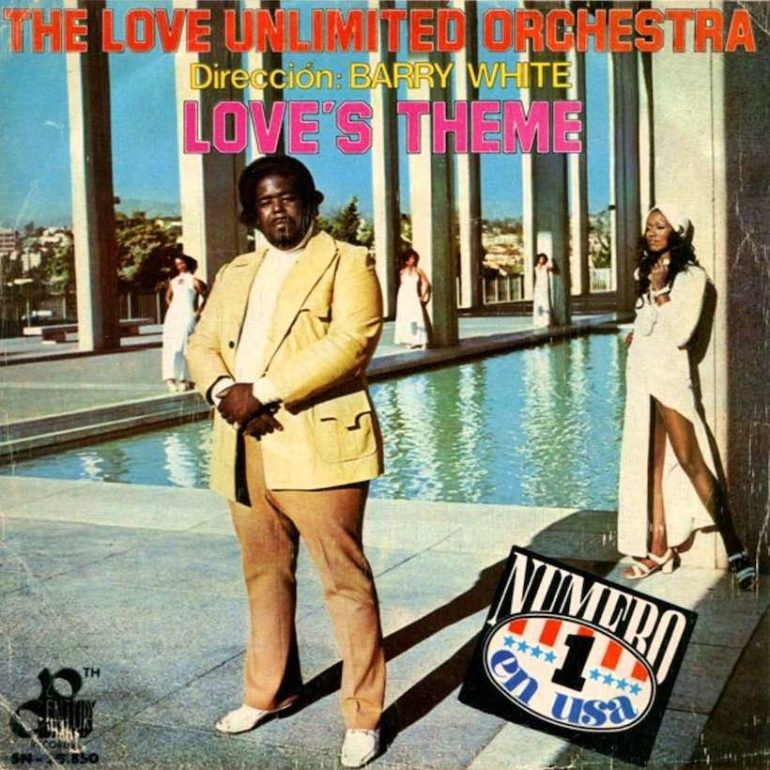 Barry White Conducts An Instrumental Smash