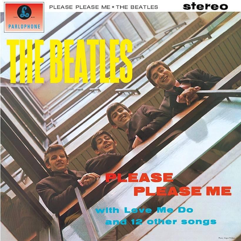 Beatles Please Please Me Debut Album Cover