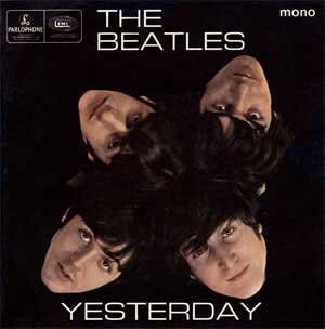 The Beatles Yesterday Artwork
