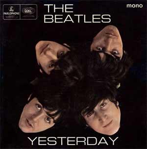 The Beatles Yesterday Artwork