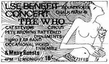 The Who LSE Benefit Concert Flyer web optimised 350