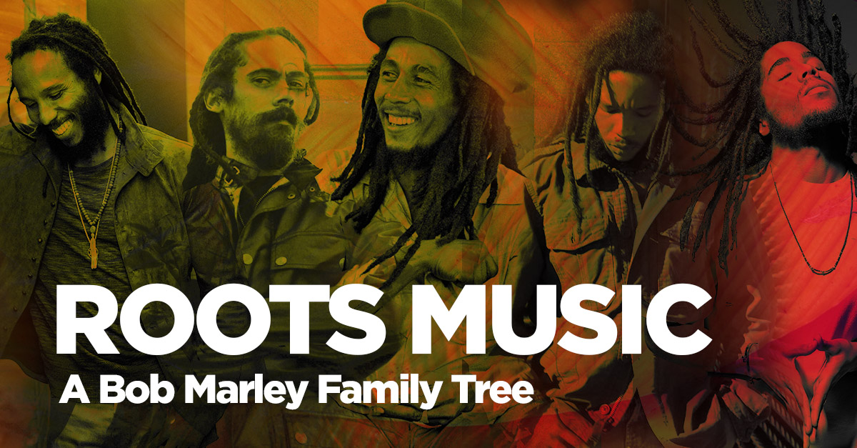 Reggae Roots Music A Bob Marley Family Tree Udiscover