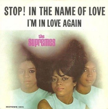 No Holding Back The Supremes' 'Stop! In The Name Of Love'