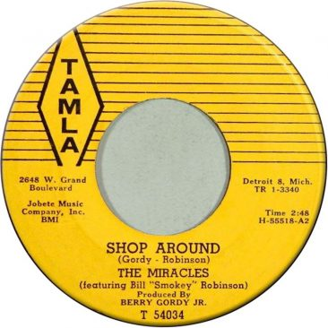 Miracles Land First Motown Million-Seller