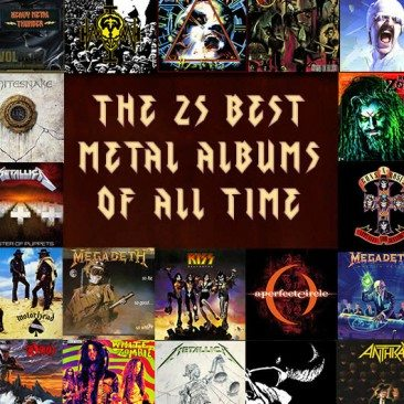 The 25 Best Metal Albums Of All Time