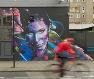 Amy Winehouse Mural Jewish Museum