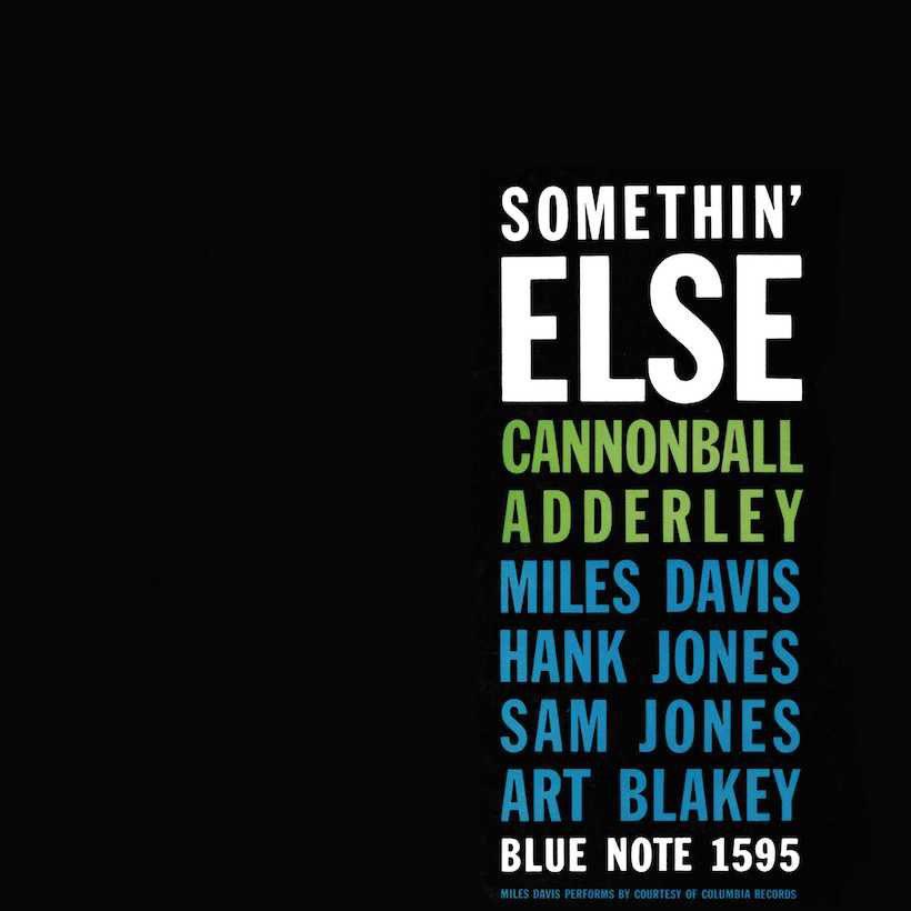 Cannonball Adderley Somethin' Else album cover web optimised 820