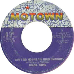 Diana Ross Ain't No Mountain High Enough Cover