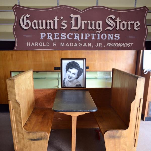 Patsy Cline Gaunt's Drugstore