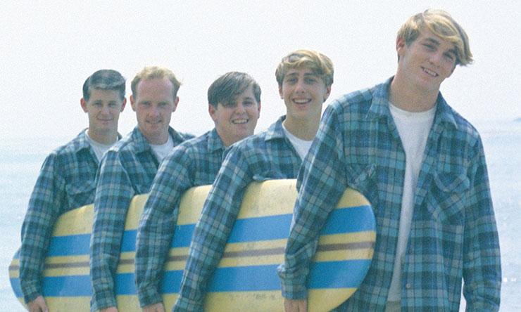 Beach Boys early 60s Brian Wilson Mike Love Carl Wilson David Marks Dennis Wilson web optimised 740