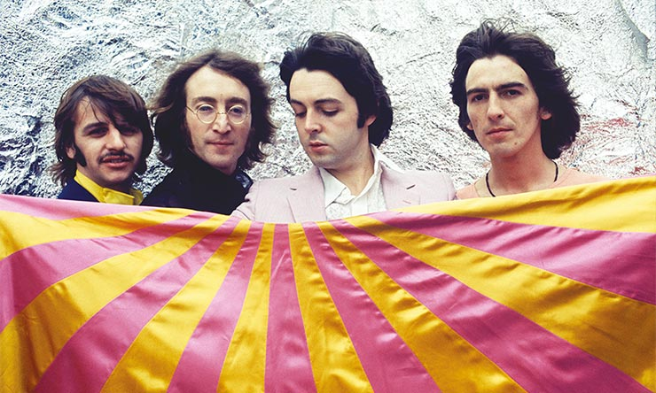 The Beatles White Album Press Shot [02] - CREDIT - Apple Corps