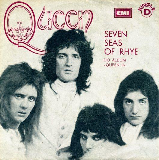 Queen S Uk Singles Breakthrough With Seven Seas Of Rhye