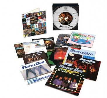 Second Vinyl Singles Box Coming From Status Quo
