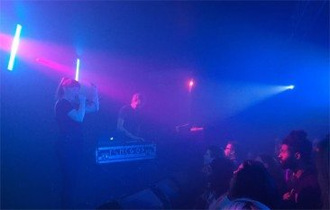Review: Electro Newcomers Sylvan Esso Fire On All Cylinders In London