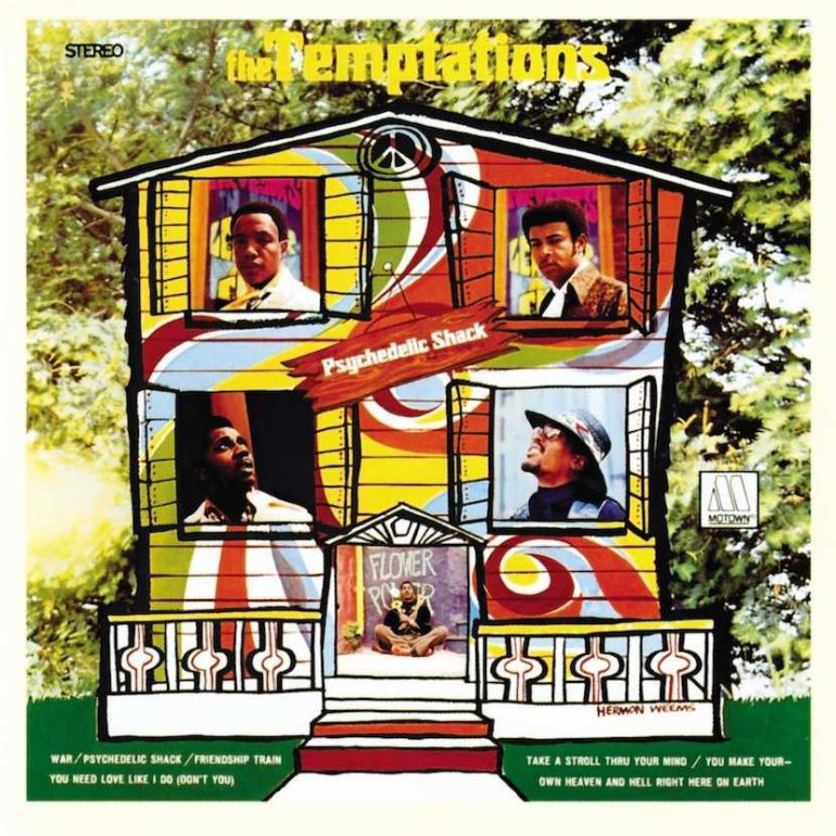 The Temptations Evolve With Psychedelic Shack Udiscover
