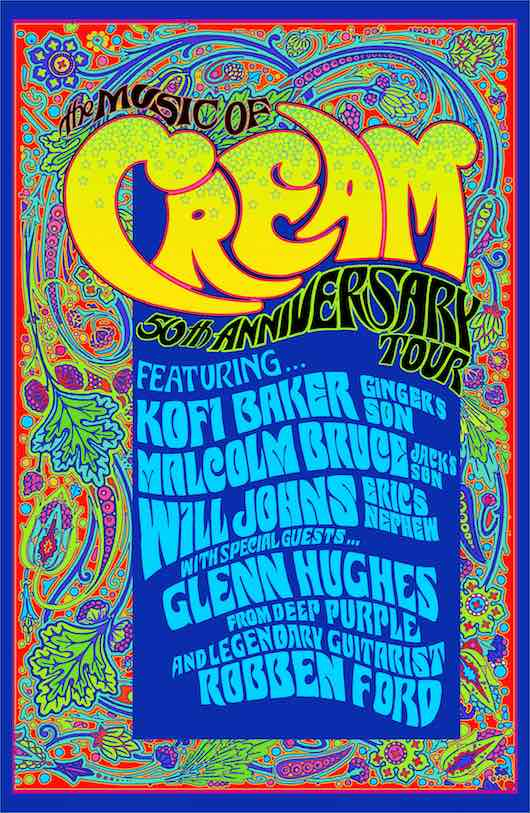 Cream Bloodline Continues With New Tour Udiscover