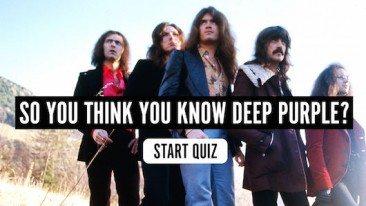 So You Think You Know Deep Purple? Quiz