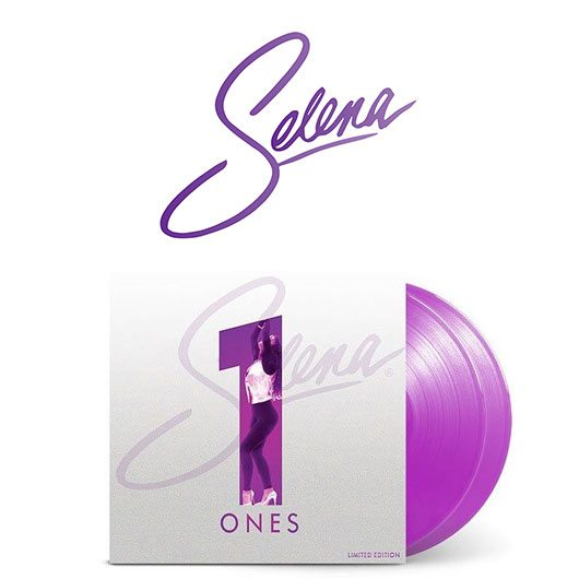 Win Selena's Limited Edition Purple 'ONES' Double LP!