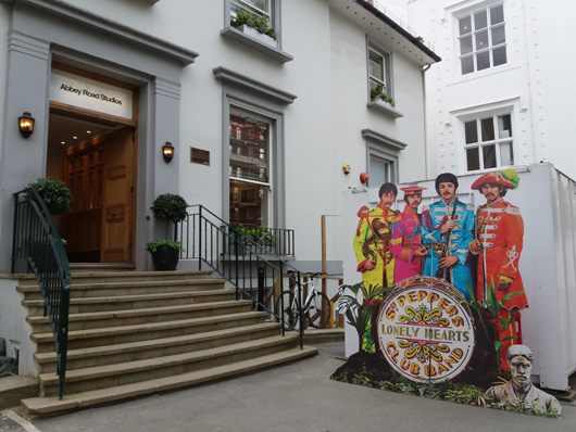 The Beatles' Long-Awaited 'Sgt Pepper' Remix Previewed At Abbey Road