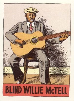 Blind Willie McTell by R. Crumb -300