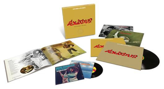 Bob Marley Exodus 40 Deluxe Edition Packshot