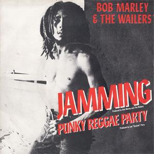 Bob Marley Jamming Single Sleeve
