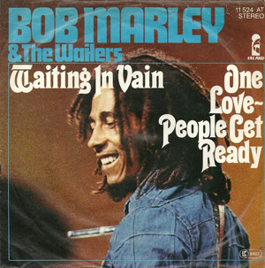 Bob Marley Waiting In Vain Single Sleeve