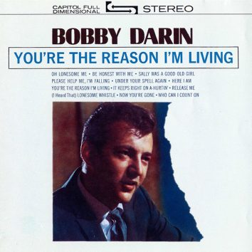 Bobby Darin You're The Reason I'm Living Album Cover web optimised 820