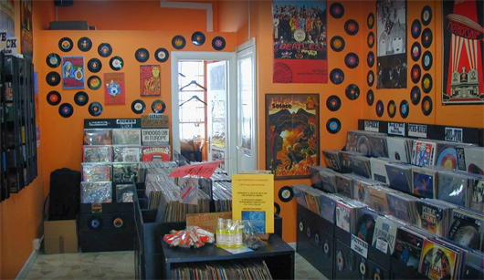 Hocus Pocus Record Store, Rome, Italy