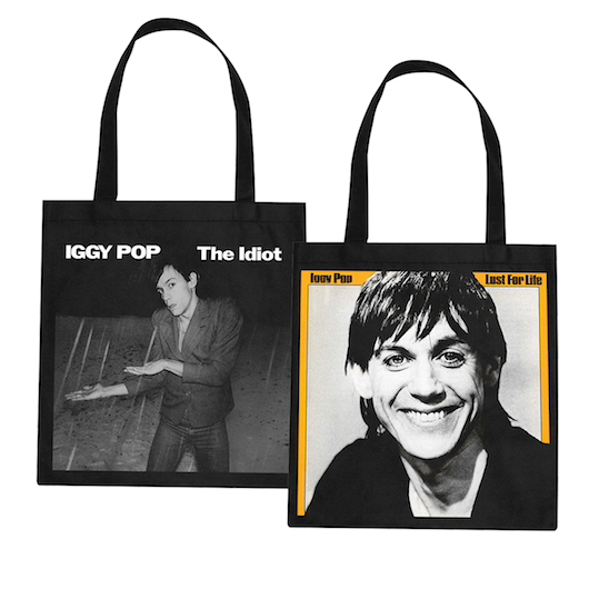 Iggy Pop Custom Tote Bags