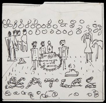 John Lennon's Original 'Sgt. Pepper' Album Cover Sketch Set For Auction