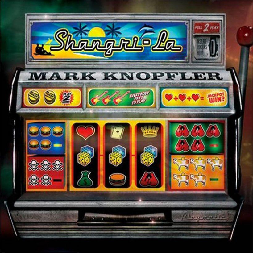Mark Knopfler Shangri La Album Cover