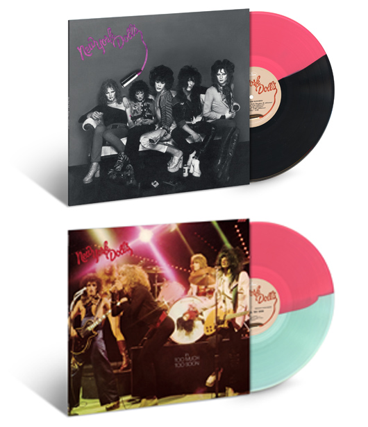 New York Dolls Too Much Too Soon Coloured Vinyl