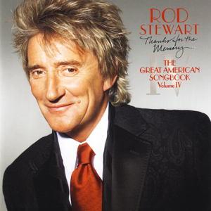 Rod Stewart Thanks For The Memory Album Cover