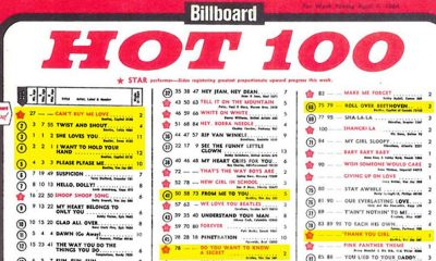 The Beatles Billboard Billboard-Chart