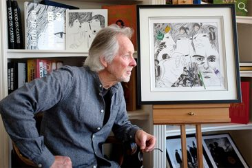 Klaus Voormann And Genesis Publications Announce 'Revolver 50: The Collage Series'