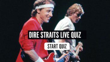 Dire Straits Live Quiz