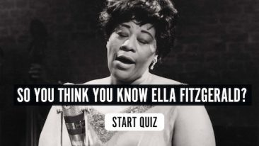 So You Think You Know Ella Fitzgerald? Quiz