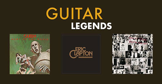 Win Our Guitar Legends Vinyl Bundle!